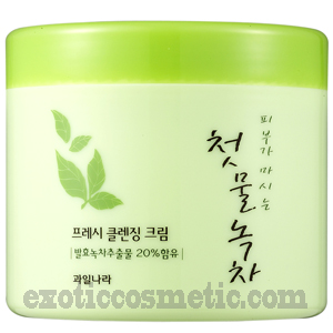 THE FIRST GREEN TEA NATURAL FACIAL CLEANSING CREAM - FERMENTED