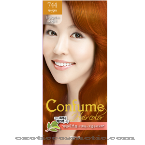 CONFUME HAIR COLOR 744 EUCALYPTUS ORANGE