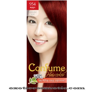CONFUME HAIR COLOR 954 VERY VERY RED