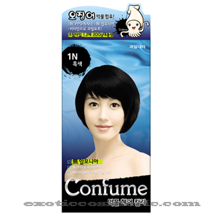 CONFUME SQUID INK HAIR COLOR 1N - BLACK (NO AMMONIA)