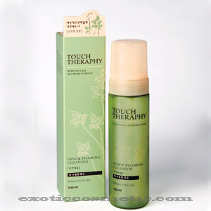TOUCH THERAPY NATURAL FEMININE HYGIENE INNER FOAMING CLEANSER