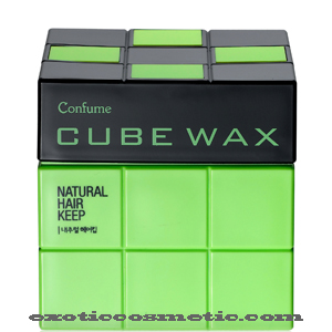 CONFUME CUBE HAIR WAX - NATURAL HAIR KEEP